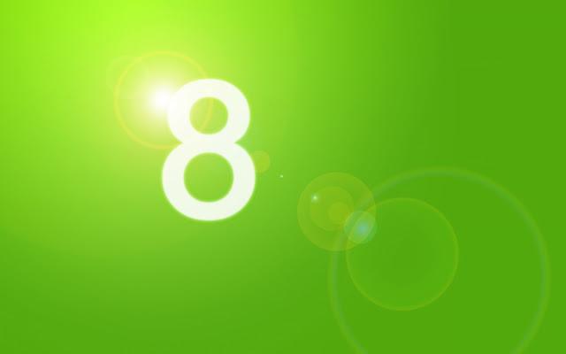 Green Windows 8 Wallpaper