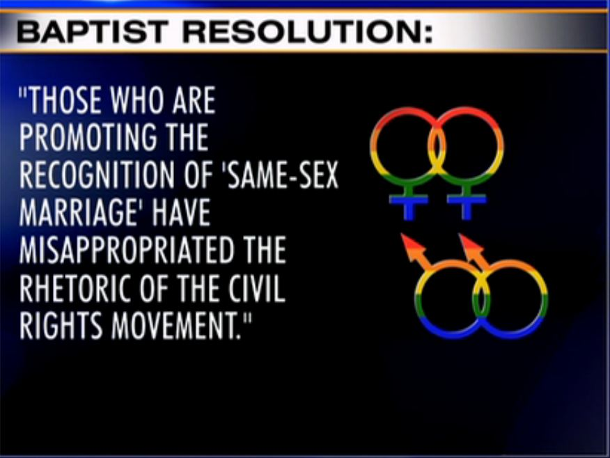 ... solution is simply gay marriage is definitely not a civil rights issue.