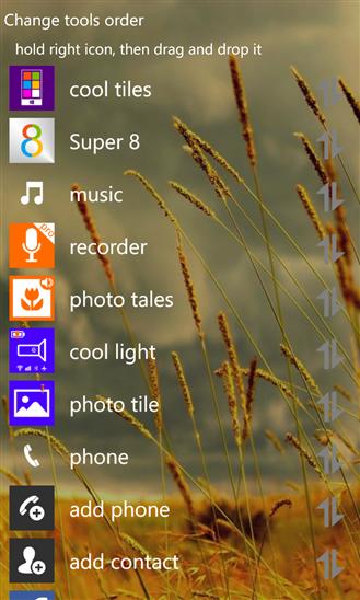 تطبيق مجاني يضم إختصارات لجميع العمليات والمهام والأدوات لويندوز فون ونوكيا لوميا Super 8 xap