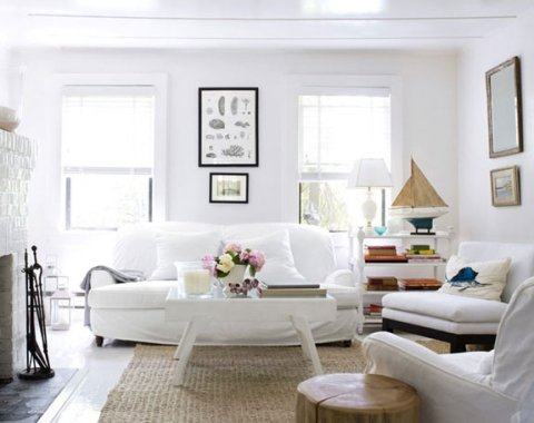 Slipcovered Furniture 101 -Sofas & Chairs for Easy Coastal Style ...