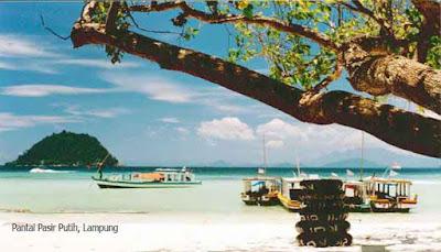 Pantai Pasir Putih, Lampung