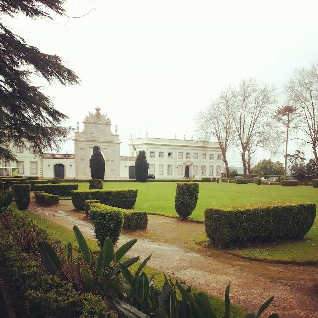 beautiful Seteais Palace Sintra