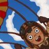 Pule de paraquedas no Jogos de Avião