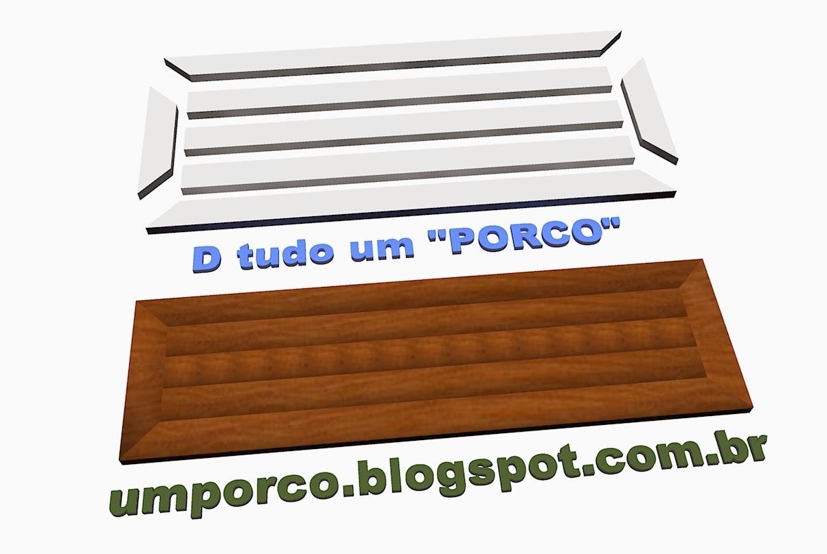 Faça você mesmo: Bancada de Madeira para Cozinha D tudo um PORCO #1942B2 1204 807