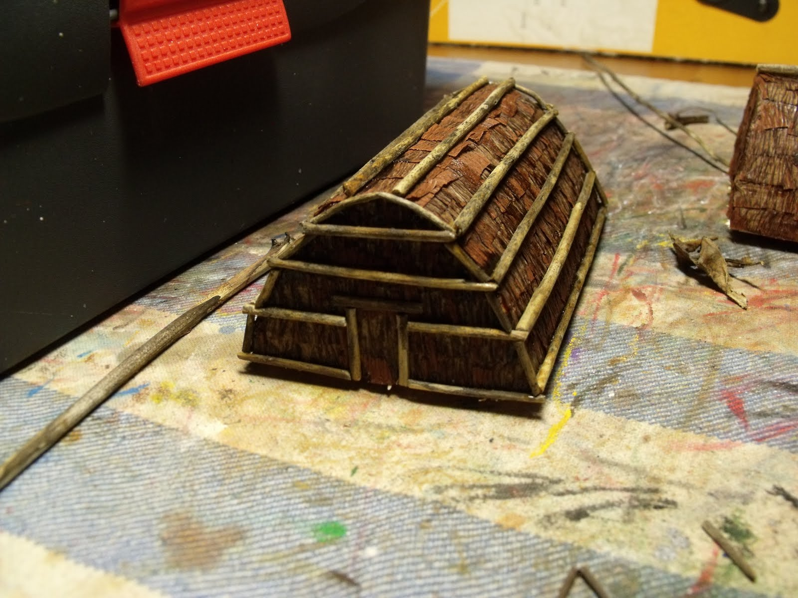 Iroquois longhouse project 4th grade fiw indian longhouses