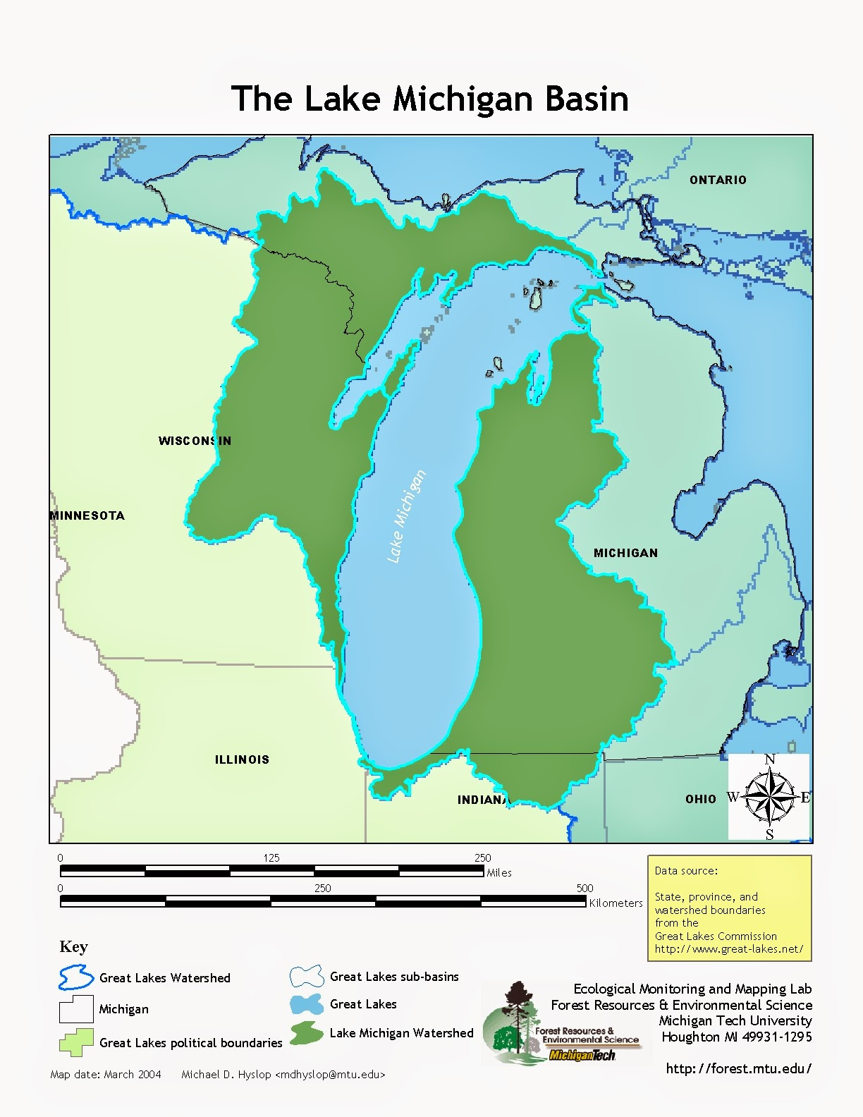 i find it interesting that in northern illinois the lake michigan watershed ends just two blocks to the west of my house on ridge rd up by the grocery