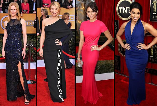 Nicole Kidman, Claire Danes, Nina Dobrev, Jordin Sparks, SAG Awards