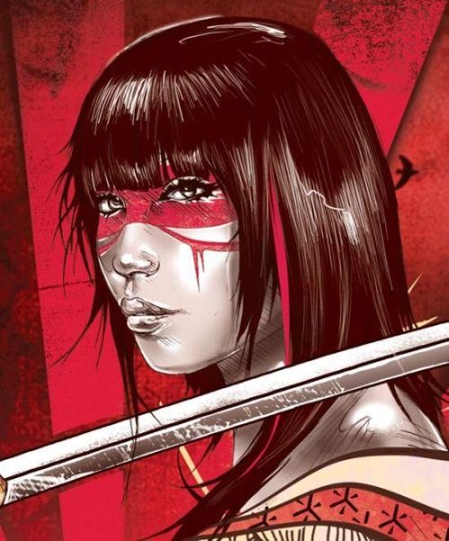 Kent Floris ilustrações incríveis arte Vida através da morte pela espada