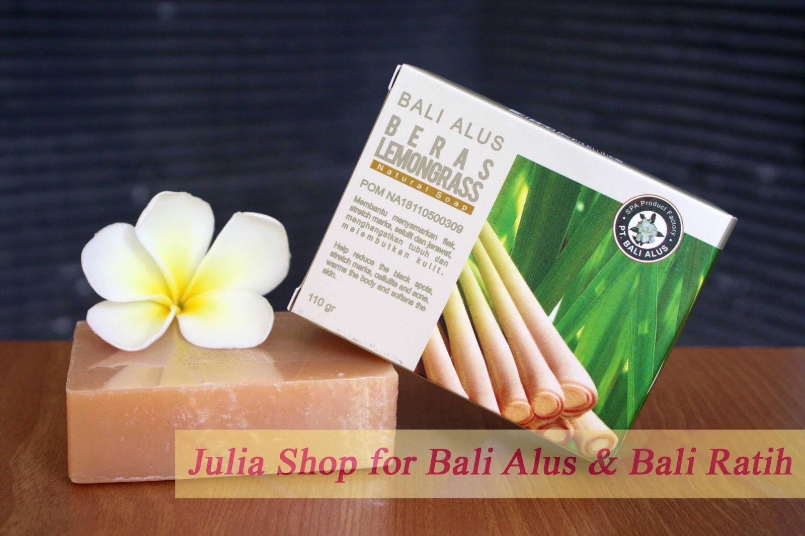 Julia Shop Bekasi Maret 2013 Sabun Natural Spa 110gr Beras Lemongrass Bali Alus