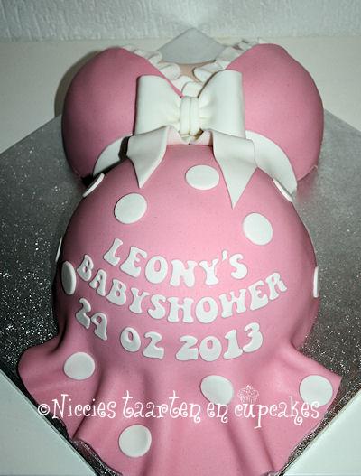 babyshower taart recept