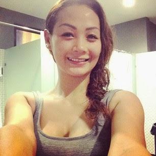 Image Result For Ayunia Elfahrez Hot Bikini Photoshoot Di Kolam Renang