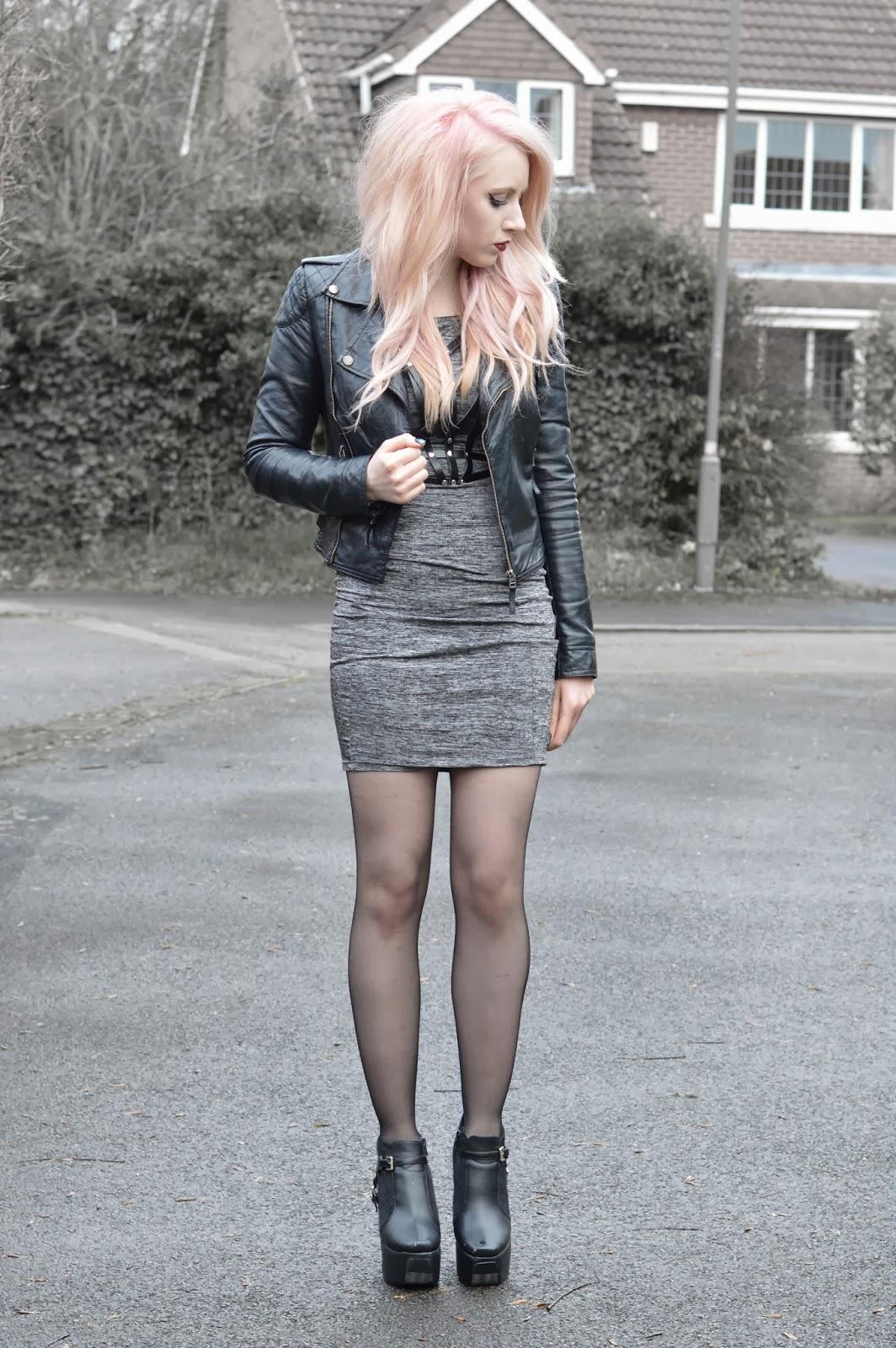 Sammi Jackson - Leather Harnesses