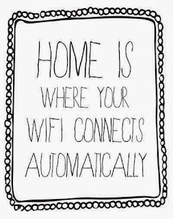 home is where your wifi connects automatically, home wifi