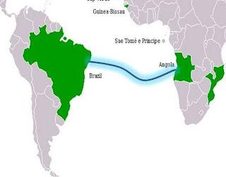 Cabo de fibra ótica ligará o Brasil à Angola