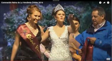 Coronación a Reina Fiesta Patrimonial de la Vendimia Chillán 2016