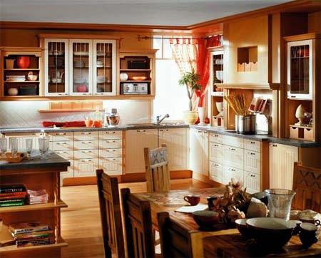 15 مطابخ خشبية كلاسيكية و مودرن