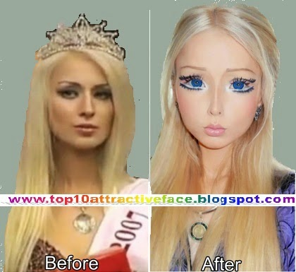Top 10 Most Beautiful Attractive barbie doll Faces | Top ...  Top 10 Most Bea...
