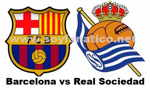 Barcelona FC vs Real Sociedad Vuelta Semifinal Copa del Rey 2014