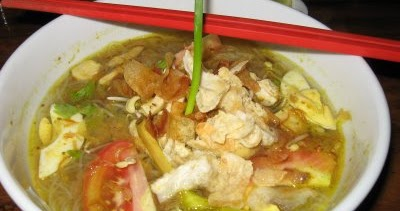 resep masakan indonesia resep soto ayam