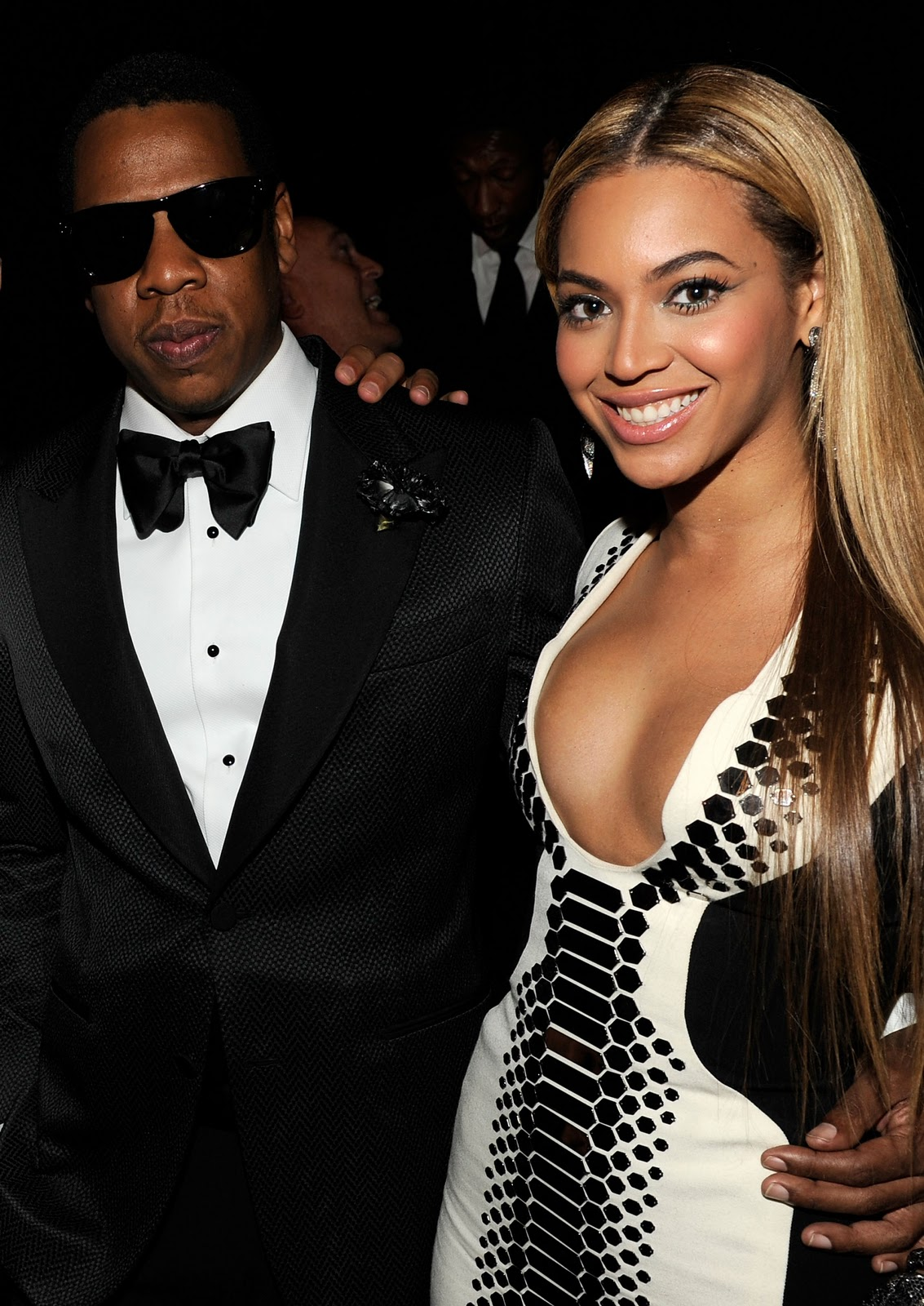 beyonce and jay z walking
