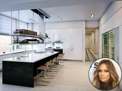 Dapur cantik J-Lo