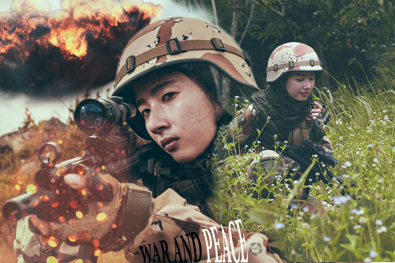 Bộ ảnh Cosplay Warface cực kỳ ấn tượng của nữ game thủ Việt
