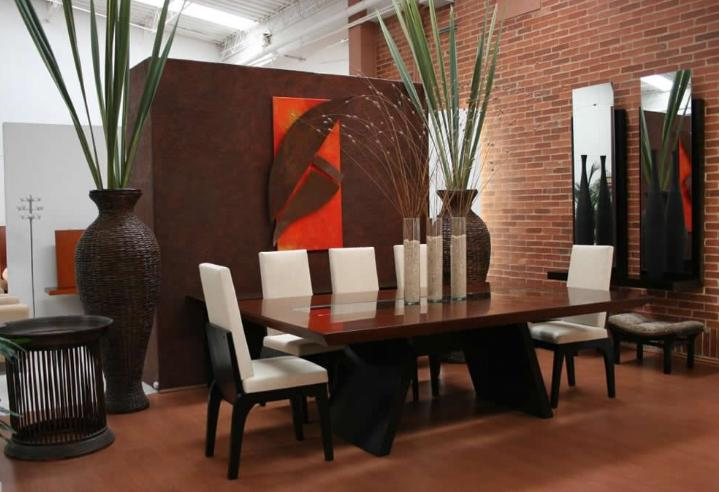 Dise o de interiores comedores for Disenos de comedores de madera