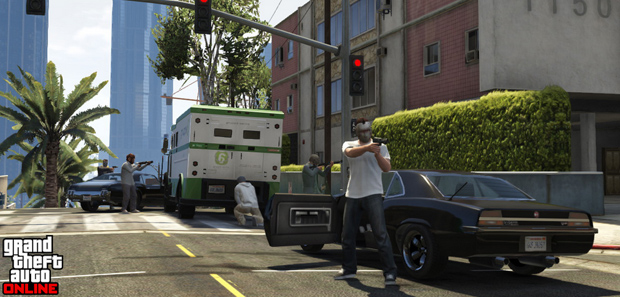 GTA Online Security Van