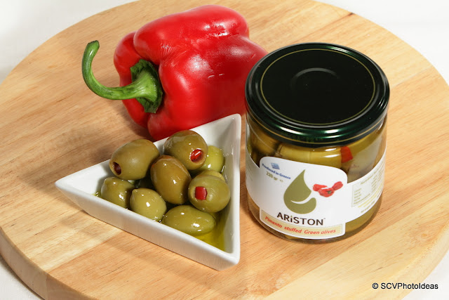Ariston pimento stuffed green olives
