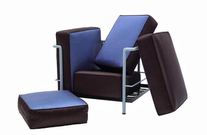 clasicos del diseno industrial reinterpretados Sofa LCD2 Le Corbusier