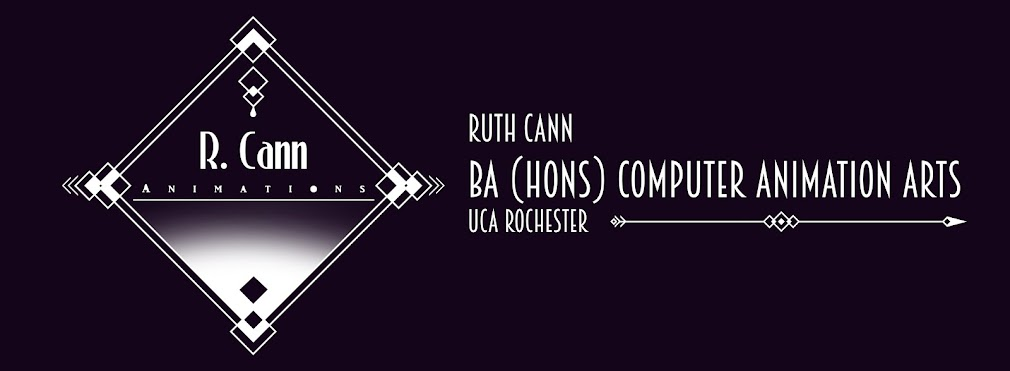 Ruth Cann - BA Hons Computer Animation Arts - UCA Rochester