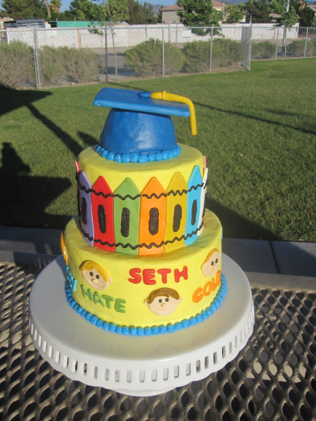Ms. Cakes: Preschool 2011 Cake