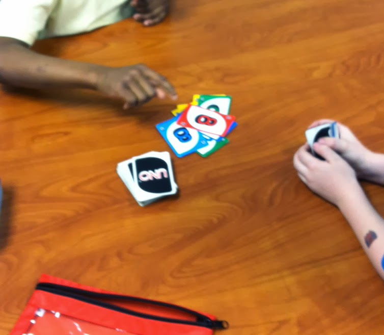 Uno game (Brick by Brick)