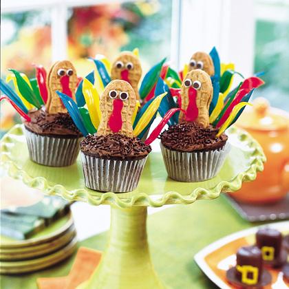 Thanksgiving ideas thanksgiving day ideas thanksgiving for Decorations for thanksgiving cupcakes