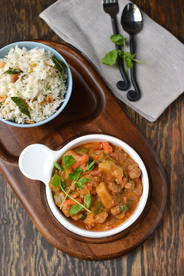 Sri Lankan Vegetable Curry