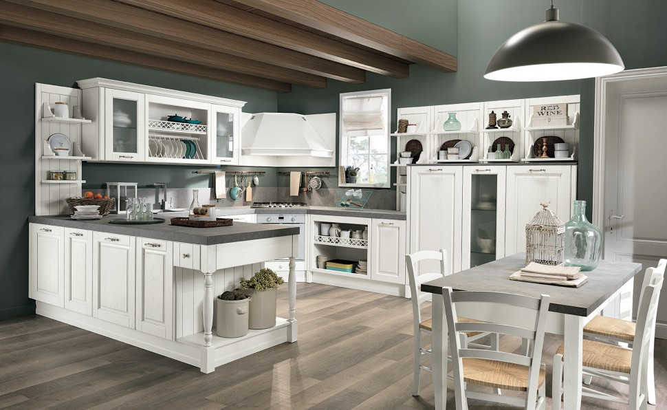 Beautiful Elegance Meets Versatility In A Perfect Mix With Colombiniu0027s Newest Kitchen  Collection, Opera, The Prestigious Cooking Unit With Five Style Variations  And ...