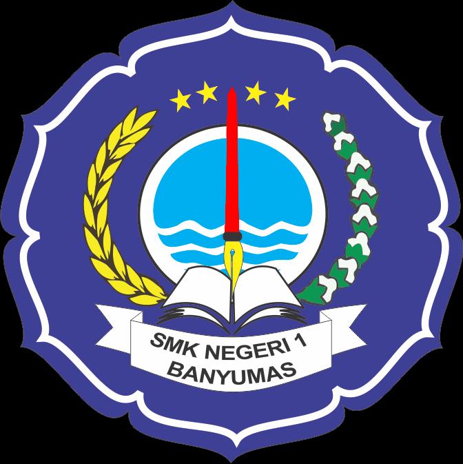 smkn 1 banyumas logo