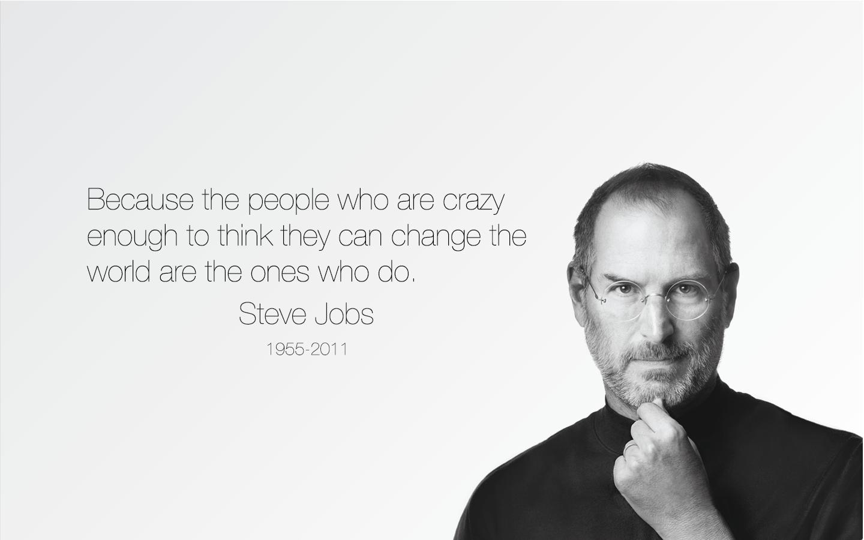 steve jobs motivational inspirational quote wallpaper