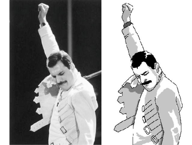 Freddy Mercury Meme Rage Pose