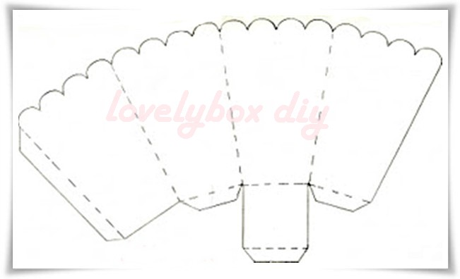 popcorn container template lovely box diy my popcorn