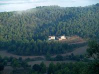 El Puig des de la pujada al Serrat de l'Àliga