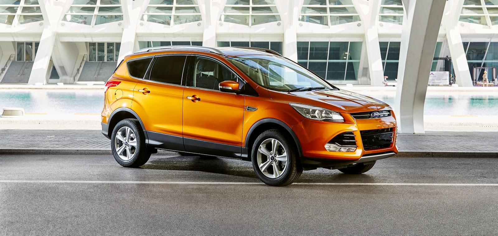 2015 Ford Kuga in Calypso Orange