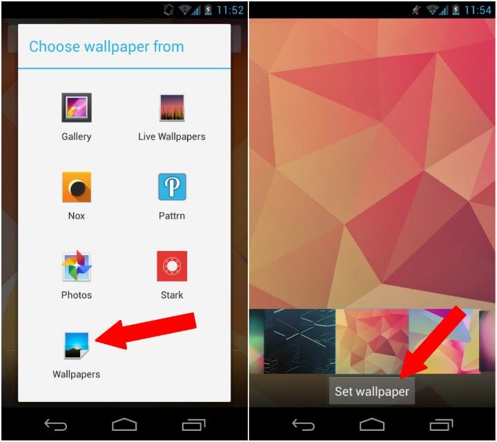 Cara Mengganti Wallpaper di Android