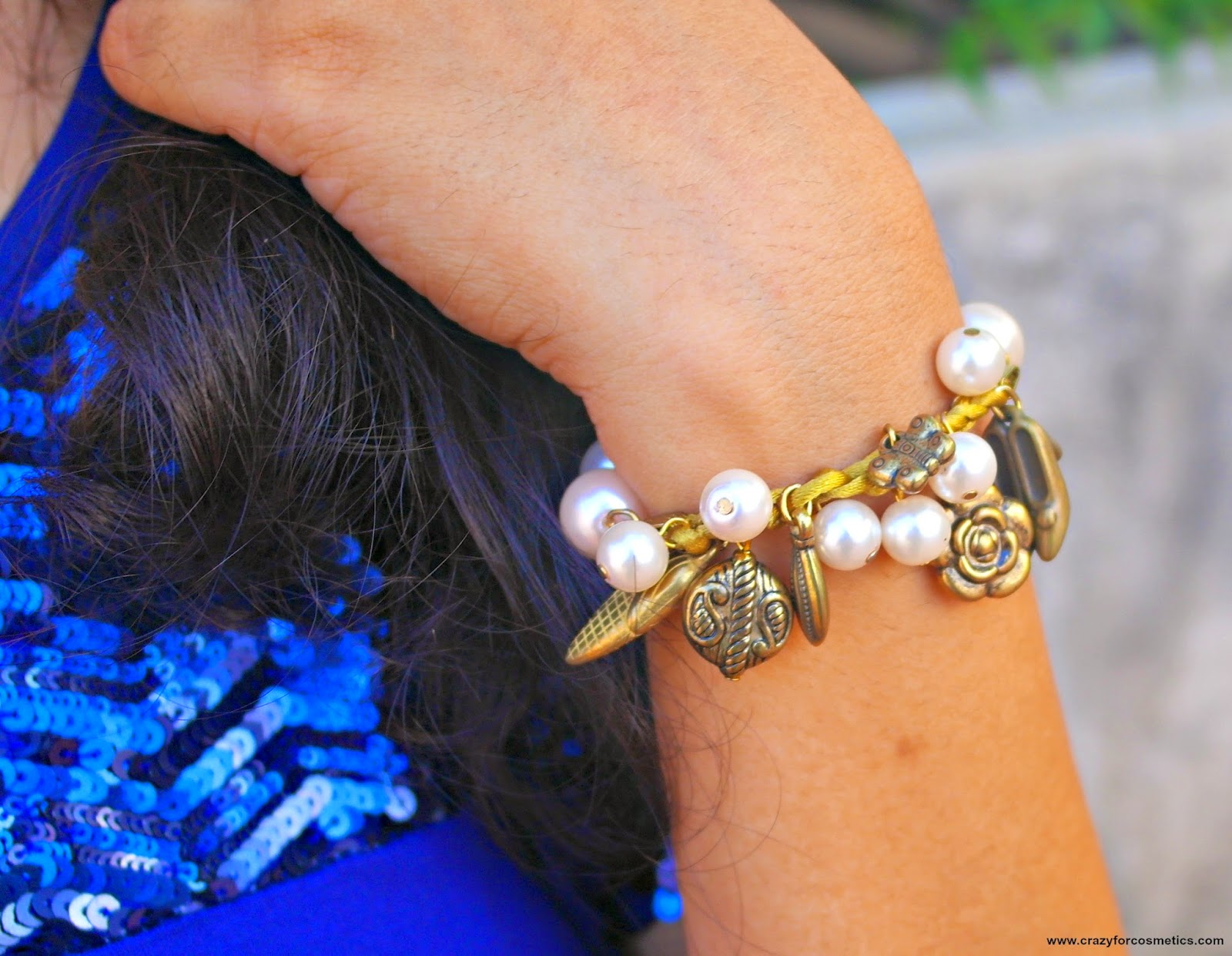 how to wear pearl bracelet