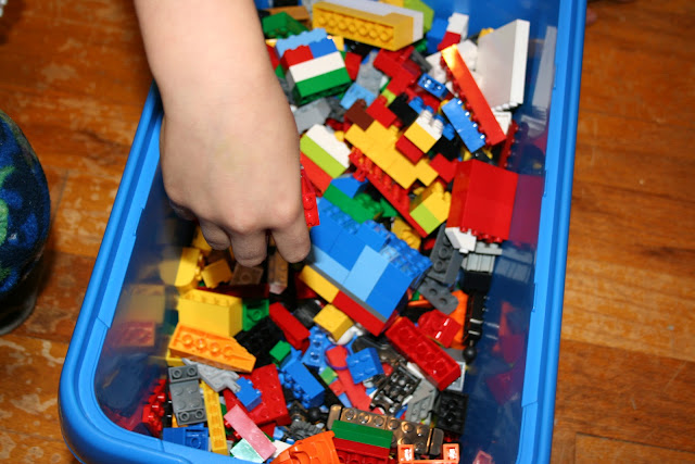 homeschool schedule independent learning legos blocks play