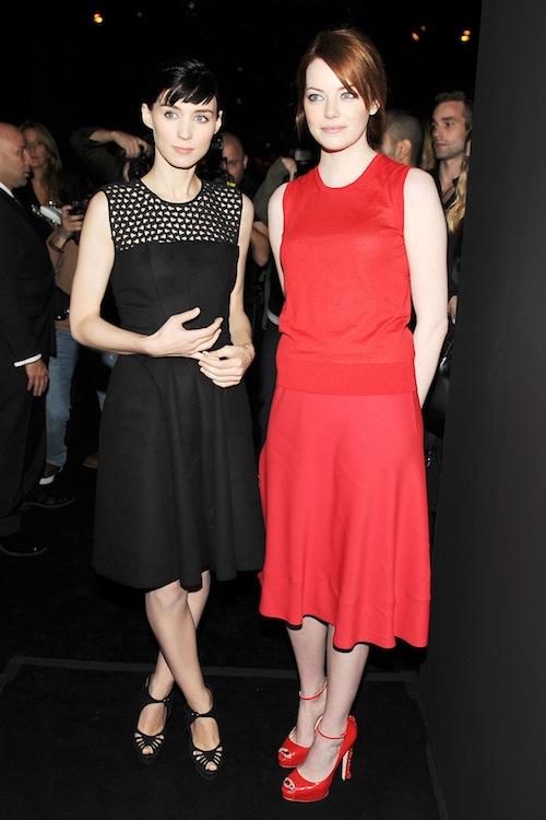 Emma Stone Rooney Mara