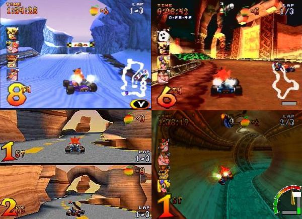 Hasil gambar untuk bermain Crash Team Racing