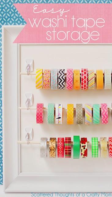 Diy Washi Tape diy: washi tape storage ideas - teachertrade, mothernature