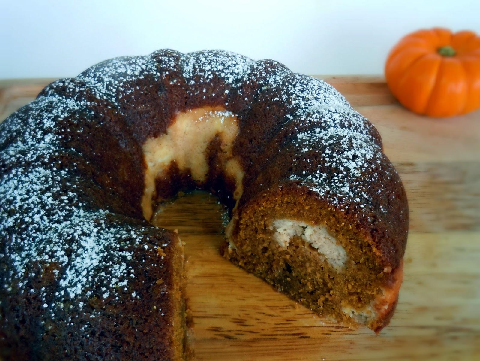 Revel with Rose: Pumpkin Cream Cheese Bundt Cake