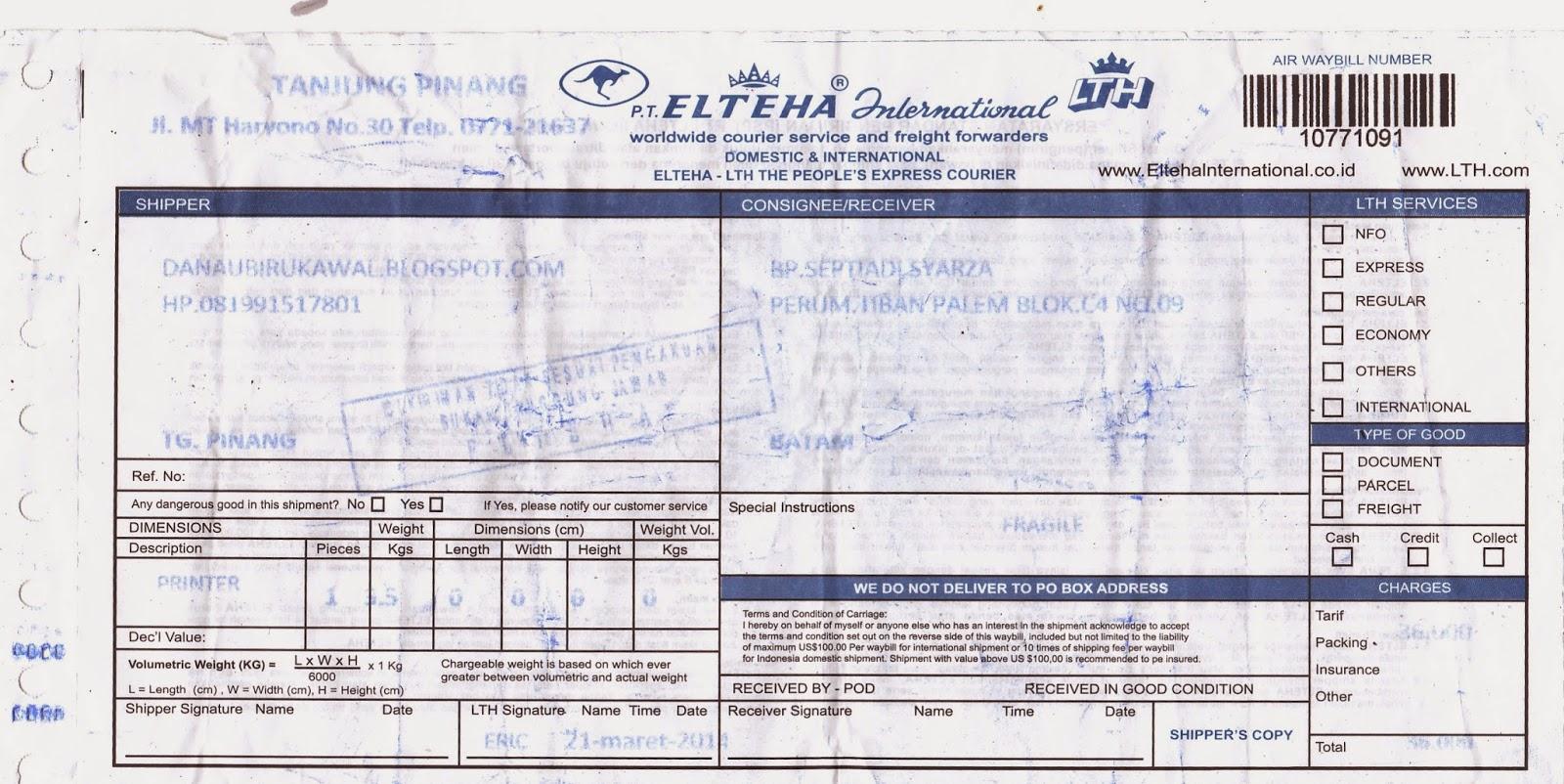bukti pengiriman danaubirukawal.blogspot.com